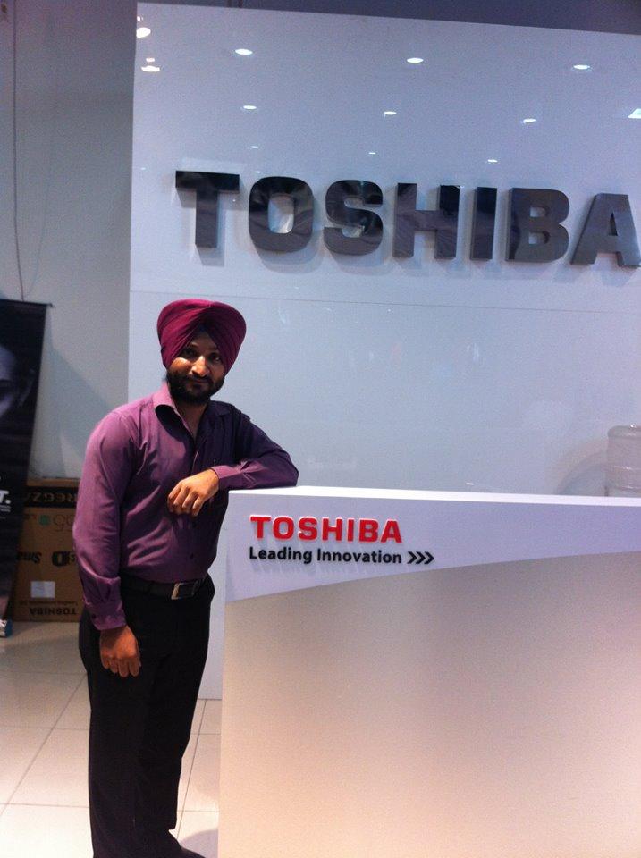 Jagdeep Singh – Toshiba